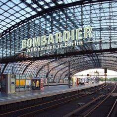 Berlin Hauptbahnhof Bombardier