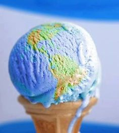 The World on an Ice Cream Cone
