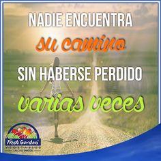 """""""Nadie encuentra su camino sin haberse perdido varias veces""""  #FraseDelDía #Motivación"""