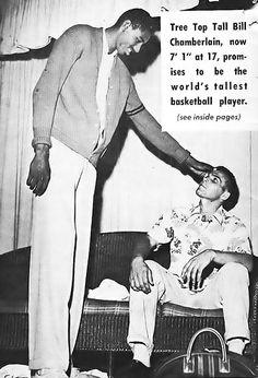 "A Young Bill ""Wilt"" Chamberlain - Say Magazine, October 28, 1954"