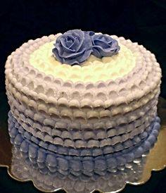 Purple Ombre' Petal Cake