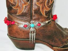 Thunderbird Boot Bling, Boot Accessories, Cowgirl Boot Jewelry, Boot Bracelet…                                                                                                                                                                                 More