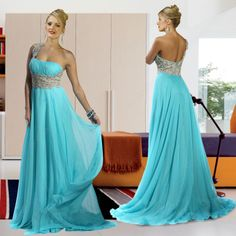One Shoulder Prom Dress - Prom Dresses at Pickedresses.com