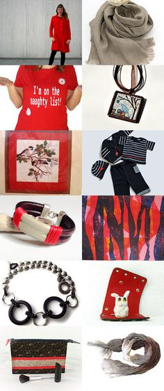 Black and Red by Donna Trull on Etsy--Pinned with TreasuryPin.com