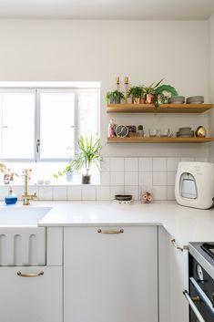 הבית של טל ואליעד – לימור אורן Kitchen Decor, Kitchen Ideas, New Homes, Kitchen Cabinets, House, Home Decor, Living Rooms, Kitchens, Heaven