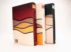 Book Cover Series / 19th cent. Author Biographies by Hilary Gaby, via Behance