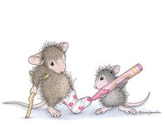 """Color Me Better"" from House-Mouse Designs®. This image was recently purchased on a rubber stamp. Click on the image to see it on a bunch of other really ""Mice"" products."