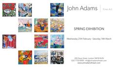 SPRING EXHIBITION Wednesday 25th February - Saturday 14th March