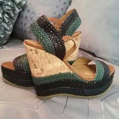 Wedge sandals BRAND NEW SUMMER FUN WEDGES!! Mossimo Supply Co Shoes Sandals