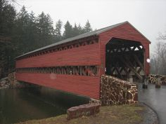 Sach's Bridge, Gettysburg, PA - Reports of activity include strange mists, apparitions and disembodied screams.