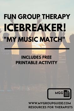 My Group Guide- Free Therapy Icebreaker Activity