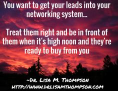 The goal of your business is to get leads into your sales funnel...don't pitch them in the beginning