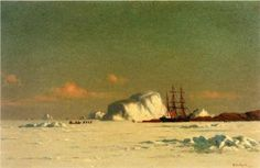 In the Arctic  - William Bradford