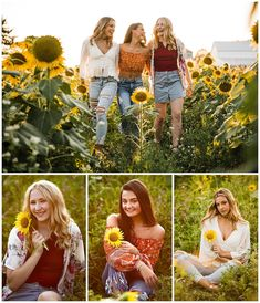 Elisabeth Anne Photography - North Canton OH Senior Photographer Family Picture Poses, Family Picture Outfits, Girl Photo Poses, Girl Poses, Teen Fashion Photography, Autumn Photography, Girl Photography, Sunflower Field Pictures, Sunflower Pics