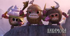 Meet The KAKAMORA, an intense team of crazy, coconut-armored pirates who will stop at nothing to get what they want. #Moana