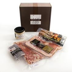 igourmet The Smoked Bacon Gift Box. igourmet The Smoked Bacon Gift Box Bacon Gifts, Sweet Sixteen Gifts, Best Gifts For Her, Birthday Gifts For Girls, The Smoke, Pork Belly, Boutique, Food Gifts