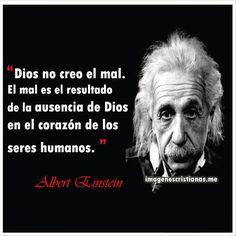Frases Cristianas De Albert Einstein