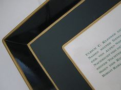 Datenträger! Elegante französische Metalltabletts mit individuellen Drucksachen.