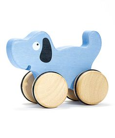 Take a look at this Dog Push-Around Toy Dog by BeginAgain on #zulily today! $10 !!