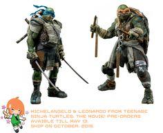 Teenage Ninja Turtles Movie: Leonardo and Michelangelo - A Rinkya Blog