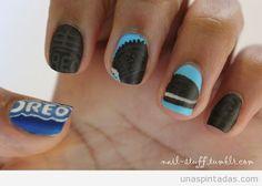 Nail Art Oreo Cookies