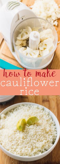 Learn how to make cauliflower rice in a few short steps in 15 minutes! So easy, and a great low carb and low cal alternative to regular rice! via http://jessicainthekitchen.com