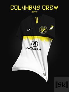 Tremendous - 48 Unique Nike MLS Concept Kits By Santi Kits - Footy Headlines Sport Shirt Design, Sports Jersey Design, Football Design, Football Kits, Sport T Shirt, Football Jerseys, Soccer Uniforms, Team Uniforms, Mls Soccer
