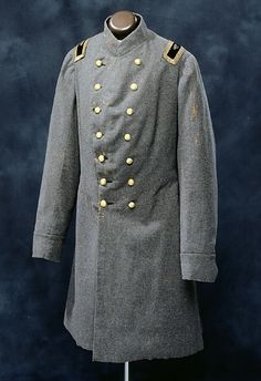 Colonel Fisher's frock Coat.  NC 6th State Infanty; NC Museum of History
