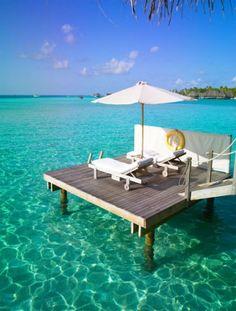 Gili Lankanfushi aux Maldives decodesign / Décoration