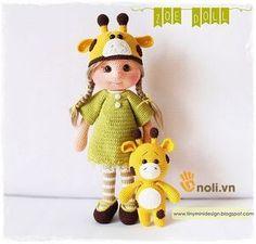 Hướng+dẫn+móc+búp+bê+hươu+Amigurumi+Zoe+Doll