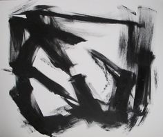 one of my black and white abstracts