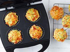 10 really good pie maker lunchbox recipes | Mumlyfe Nutritious Snacks, Savory Snacks, Yummy Snacks, Healthy Lunchbox Snacks, Yummy Food, Overnight Oats, Easy Dinners For Kids, Zucchini Slice, Zucchini Muffins