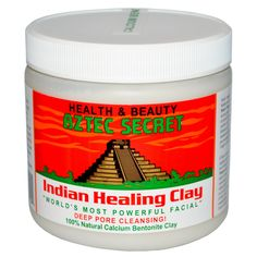 mix with ACV for masks - Aztec Secret, Indian Healing Clay, 1 lb (454 g)