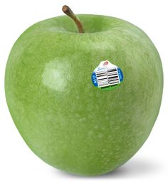 Granny Smith apple: Exterior: Green with a slight pink blush if cool nights precede harvest Interior: Firm, medium grain, bright white flesh that resists browning when sliced Experience: Granny Smith apples are firm with strong tartness resembling that of a lemon. This famously green apple is bound to make your mouth water. Used for: Snacking, salads, freezing, pies, and baking. Ripens early October