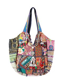 55a0e8a9da01 Assorted Patchwork Bag - Handbags - Accessories