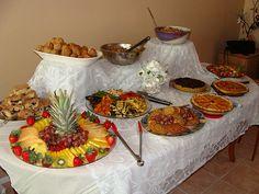Tropical themed food | VEG-IN-TRAINING: Vegan Bridal Shower Brunch and Hawaiian Quinoa Salad