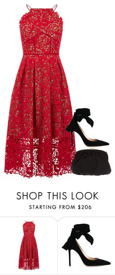 """Sans titre #1067"" by nicolaisbae ❤ liked on Polyvore featuring Warehouse, Gianvito Rossi and Christian Dior"