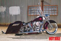 L.A. Baggers customizes a Harley-Davidson Heritage Softail for comfort, speed and show