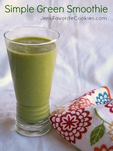 Green Smoothie | Jen's Favorite Cookies | Recipes & Photos