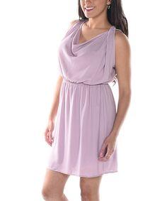 Love this Lavender Sleeveless Dress on #zulily! #zulilyfinds