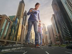 - inspiration for SexyMuse.com - Giants in Dubai by Adrian Sommeling on 500px