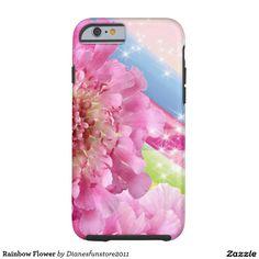 Rainbow Flower Tough iPhone 6 Case