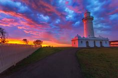 Dawn at Lighthouse by Raiyne Kim on 500px