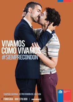 VIH (santé sexuelle, sida, condom, Chili, 2016)