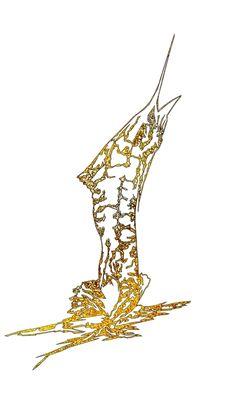 Gold Old man and the Sea Print http://metalfish66.com/prints/old-man-and-the-sea-prints/