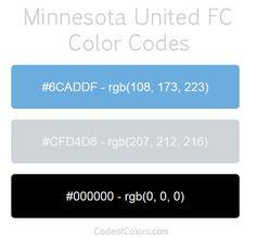 minnesota united team color codes