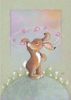 """Furious Rotation"" by Kaarina Toivanen Illustration Mignonne, Cute Illustration, Tatty Teddy, Funny Bunnies, Cute Bunny, Lapin Art, Little Bunny Foo Foo, Creation Photo, Funny Drawings"