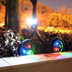 3 Change Modes of Bicycle Lamp LED Flash Lamp Spoke Lamp – Crystal Blue – & Entertainment, Cycling, Bike Accessories # - Bicycle Spokes, New Bicycle, Fixed Gear Bicycle, Mountain Bike Handlebars, Mountain Bicycle, Touring Bicycles, Electric Bicycle, Bike Accessories, Road Bike