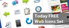 Today FREE Web Icon Set by Vandelay Design. Today I take a walk, blogwalking, and found free webdesign resources. As always free resource is always exciting, especially for people like me, webdesigner.    Free Webdesign resource this time is 16 free stylish web icons set from VandelayDesign.com. These icons come in vector formats: AI and EPS files. As you know, with a file format like this you can use these icons in sizes that fit with your webdesign needs.