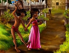 Image result for jungle book girl